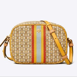 NWT Tory Burch GEMINI LINK CANVAS MINI BAG